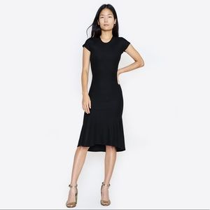 Rachel Comet Ribbed black dress size 2/4